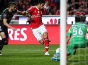 Benfica gana Guimaraes 1-0, Raúl Jiménez punto hacer golazo