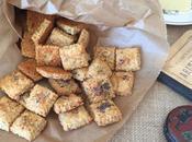 Galletas queso ahumado avena