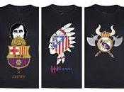 Camisetas cojines para futboleros