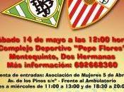 Partido solidario veteranos Real Betis Balompié Sevilla F.C.