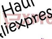 Haul Aliexpress (IV)