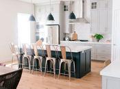 Inspiración DECO: cocina abierta preciosa