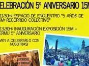 años 15M: recorrido colectivo
