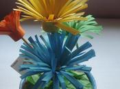 Maceta flores cartulina