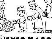 Dibujos Reyes Magos para colorear
