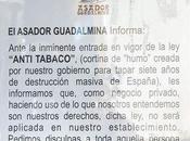 Salud envía requerimiento asador Guadalmina para cumpla