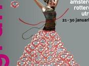 Flamenco fuera nuestras fronteras. Bienal holandesa cargada arte artistas candelero.