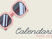 Calendario junio 2016