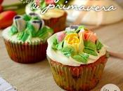 Cupcakes primavera vainilla boquillas rusas spring vanilla cupcakes with russian piping tips