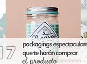 packagings espectaculares harán comprar producto