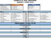 Torneo Benxamín E.D.Poio 2016: Equipos calendario