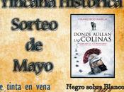 """Ganadores ejemplares """"Donde aúllan colinas"""", Francisco Narla, sorteo mayo Yincana Histórica."""