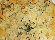 Focaccia cebolla romero