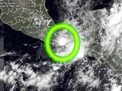 """México: forma depresión tropical """"1-E"""", primera Pacífico 2016"""