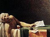 muerte Marat: imagen tranquila revolución