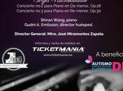 ofrecerá concierto favor niños autismo