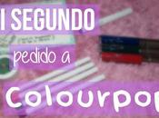 segundo pedido Colourpop