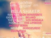 Festival VdeValarés 2016: Bellrays, Delorean, Jacobo Serra, Bengala...
