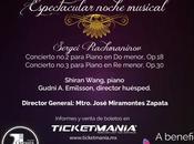 Estatal invita concierto OSSLP beneficio niños autismo