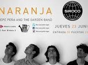 Naranja Pepe Peña Garden Band Siroco