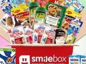 """Caja Smilebox Julio """"especial Nestlé""""."""