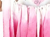 DIY: guirnalda rosa