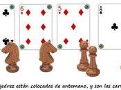 acertijo cartas piezas ajedrez… ¿Puedes resolverlo?