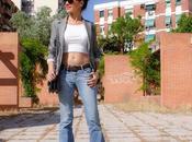 LOOK Crop Jeans