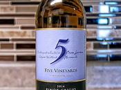 Five Vineyards Pinot Grigio 2014