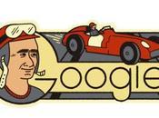 Google conmemora nuevo aniversario nacimiento Juan Manuel Fangio.