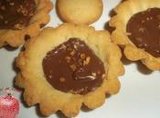 Tartaletas chocolate avellanas gluten