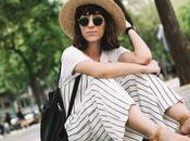 Look Día: Striped Jumpsuit Polka Shoes