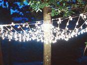 Lluvia estrellas, otra forma iluminar boda