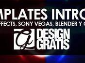+600 templates gratis After Effects, Sony Vegas, Blender Cinema4D intros