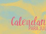 Calendario julio 2016