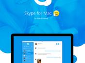 Fantástico rediseño Skype para [Concepto]