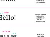 cómo combinar tipografias logotipo