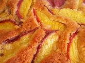 Bizcocho nectarinas amaretto