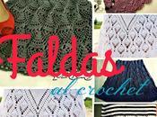 Faldas tejidas crochet