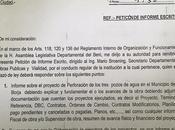 Asambleista Roca, lamenta hasta fecha haya respondido acerca tema Pozos Borja