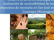 Desarrollo Metodología Evaluación Sostenibilidad José Cusmapa (Nicaragua)