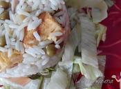 Ensalada arroz tres delicias
