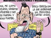Rajoy fumando, espera pareja llega