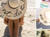 Tutoriales sombreros playa frases