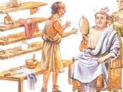 estética masculina Antigua Roma; afeitados.