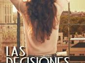 Reseña: decisiones Nina mundo libro Mandy Barrera