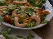 Ensalada pasta (farfalle tricolor caseros)
