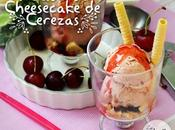 Helado cheesecake cereza cherry icecream