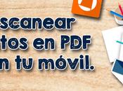 Cómo escanear documentos JPEG móvil.