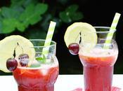 Limonada cerezas licor frutas. Hasta septiembre!!!